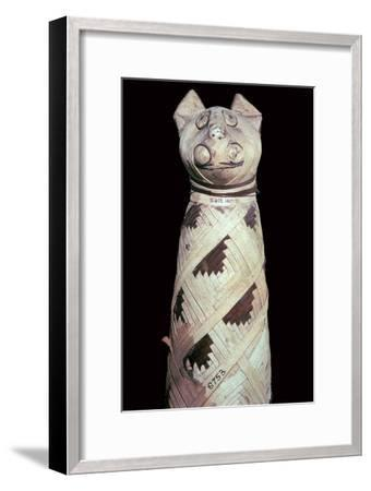 Egyptian mummy of a cat-Unknown-Framed Giclee Print