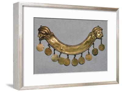 Gold pectoral from the Aegina treasure, 17th century BC-Unknown-Framed Giclee Print