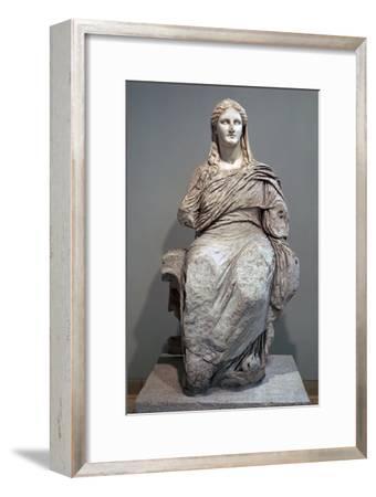 Greek sculpture of Demeter-Unknown-Framed Giclee Print