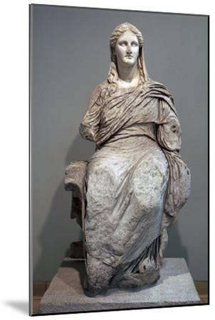 Greek sculpture of Demeter-Unknown-Mounted Giclee Print