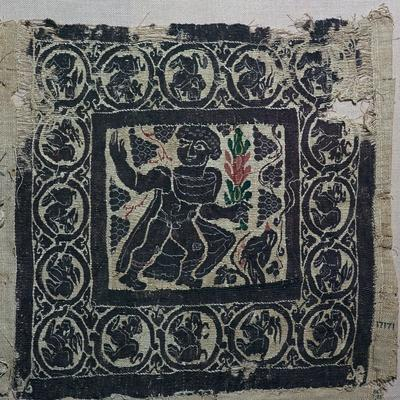 A Coptic textile from Egypt, 3rd century-Unknown-Framed Giclee Print
