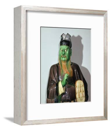 Chinese statuette of a judge of Hell-Unknown-Framed Giclee Print