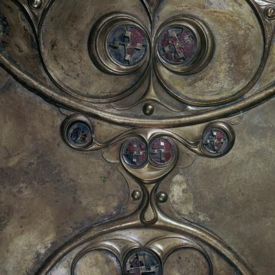 Detail of the Battersea Shield, Iron Age, c350-c50 BC-Unknown-Framed Giclee Print