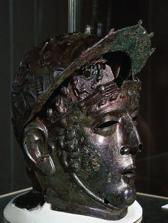 Cavalry sports helmet, Roman Britain, late 1st or early 2nd century-Unknown-Framed Giclee Print