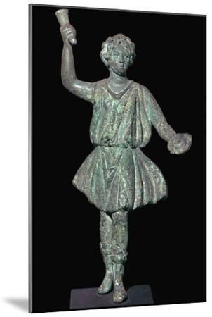 Bronze Roman household god-Unknown-Mounted Giclee Print