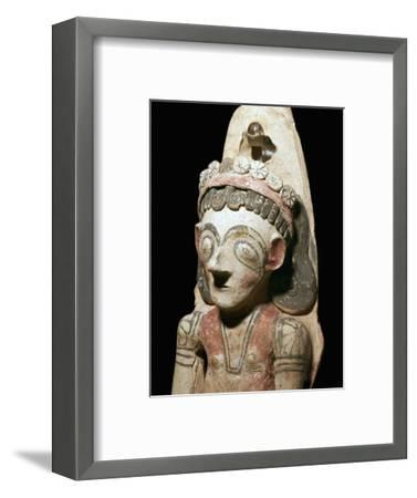 Phoenician statuette of a votary, 7th century BC-Unknown-Framed Giclee Print