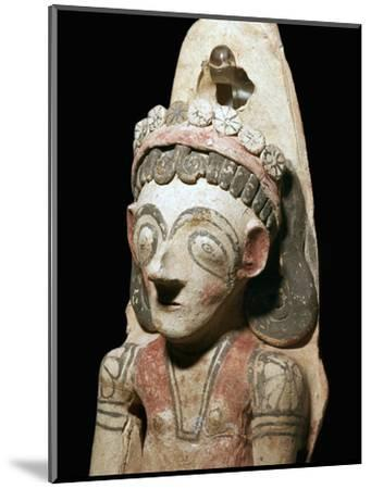 Phoenician statuette of a votary, 7th century BC-Unknown-Mounted Giclee Print