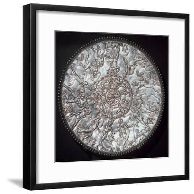 The Great Dish from the Mildenhall treasure, Roman Britain, 4th century-Unknown-Framed Giclee Print