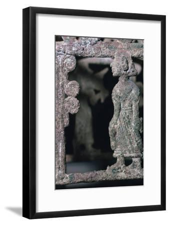 Detail of a bronze stand, 17th century BC-Unknown-Framed Giclee Print