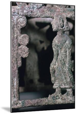 Detail of a bronze stand, 17th century BC-Unknown-Mounted Giclee Print