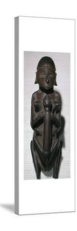 Figure of copulating man and woman from the Torres Straits islands-Unknown-Stretched Canvas Print