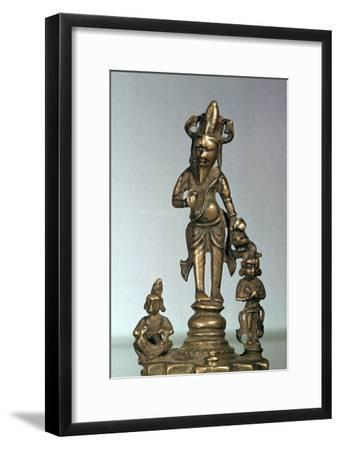 Statuette of Agni, god of fire, 11th century-Unknown-Framed Giclee Print