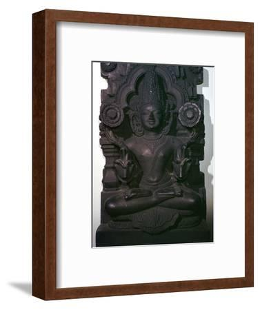 Depiction of the sun god Surya, 13th century-Unknown-Framed Giclee Print
