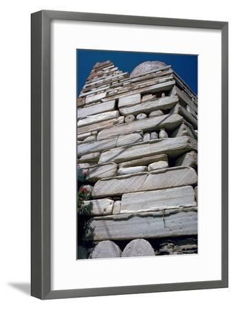 Frankish tower on the island of Paros, 13th century-Unknown-Framed Giclee Print