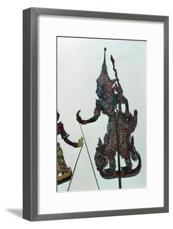 Depiction of Rama, the hero of the Ramayana-Unknown-Framed Giclee Print