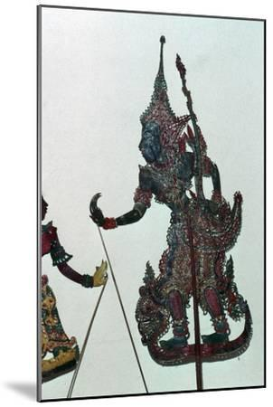Depiction of Rama, the hero of the Ramayana-Unknown-Mounted Giclee Print
