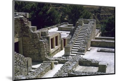 Minoan Royal palace at Knossos on Crete-Unknown-Mounted Photographic Print