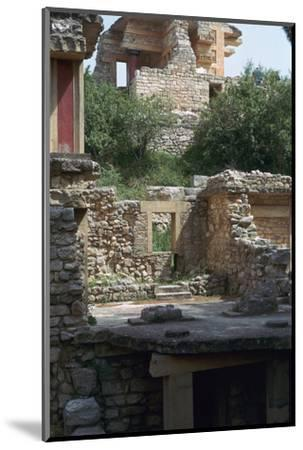 Buildings in the southern part of the Minoan Royal Palace at Knossos, 21st century BC-Unknown-Mounted Photographic Print
