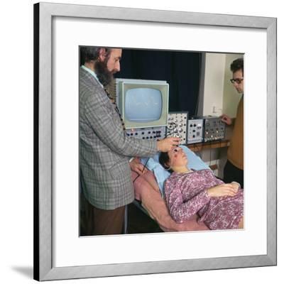E.E.G recording-Unknown-Framed Photographic Print