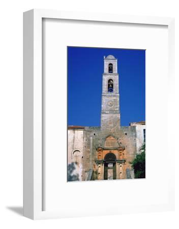 Gateway of the monastery of Agia Triadha, 17th century-Unknown-Framed Photographic Print