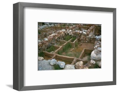 Treasure room of the Minoan palace at Zakro, 20th-15th century BC-Unknown-Framed Photographic Print