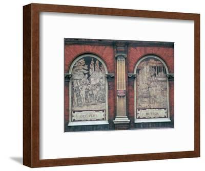 Facade of 19th century dairy-Unknown-Framed Photographic Print