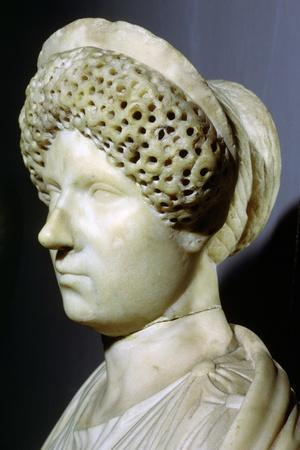 Bust of Julia, 1st century BC. Artist: Unknown-Unknown-Framed Giclee Print