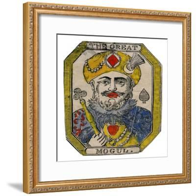 'The Great Mogul'. Artist: Unknown-Unknown-Framed Giclee Print