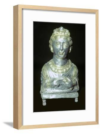 'Empress' pepper pot from the Hoxne hoard, Roman Britain, buried in the 5th century-Unknown-Framed Giclee Print
