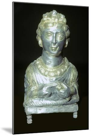 'Empress' pepper pot from the Hoxne hoard, Roman Britain, buried in the 5th century-Unknown-Mounted Giclee Print