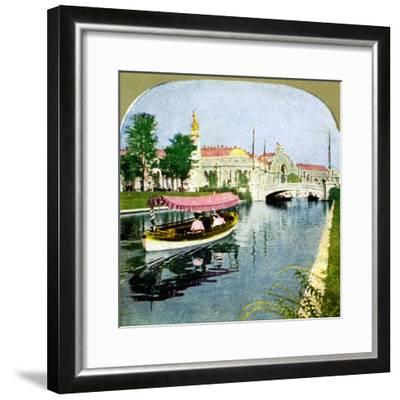 The West Lagoon from the World Fair, St Louis, Missouri, 1904. Artist: Unknown-Unknown-Framed Giclee Print