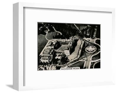 Aerial view of Buckingham Palace, 1939-Unknown-Framed Photographic Print