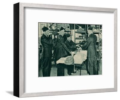Issue of Equipment, 1940-Unknown-Framed Photographic Print