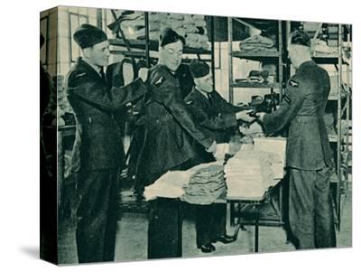 Issue of Equipment, 1940-Unknown-Stretched Canvas Print