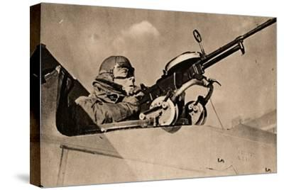 Firing Practice at Drogue Towed Target, 1940-Unknown-Stretched Canvas Print