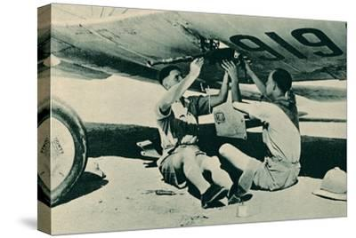 Armament Section at Work, 1940-Unknown-Stretched Canvas Print