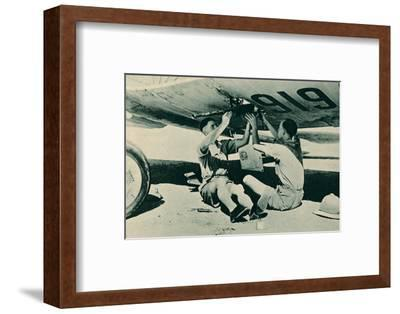 Armament Section at Work, 1940-Unknown-Framed Photographic Print