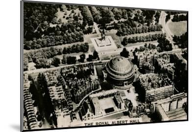 Aerial view of the Royal Albert Hall, 1939-Unknown-Mounted Photographic Print
