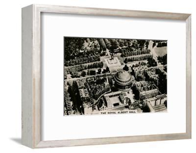Aerial view of the Royal Albert Hall, 1939-Unknown-Framed Photographic Print