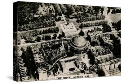 Aerial view of the Royal Albert Hall, 1939-Unknown-Stretched Canvas Print