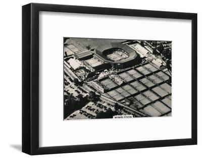 Aerial view of Wimbledon, 1939-Unknown-Framed Photographic Print