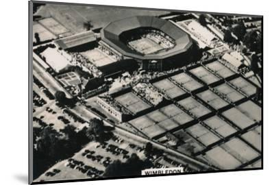 Aerial view of Wimbledon, 1939-Unknown-Mounted Photographic Print