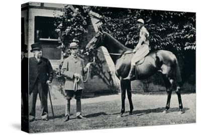 Thoroughbred racehorse, Ladas, 1894-Unknown-Stretched Canvas Print