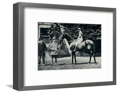 Thoroughbred racehorse, Ladas, 1894-Unknown-Framed Photographic Print