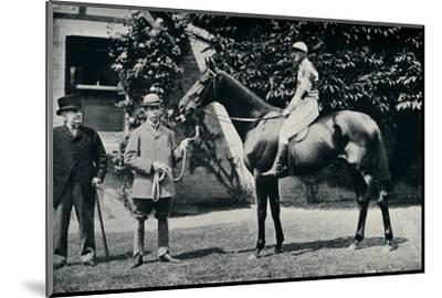 Thoroughbred racehorse, Ladas, 1894-Unknown-Mounted Photographic Print
