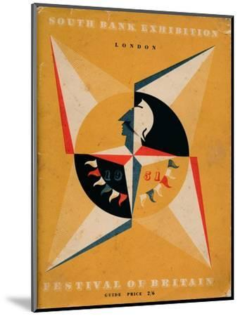 Front cover of a guide to the Festival of Britain, 1951-Unknown-Mounted Giclee Print