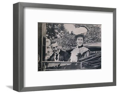 Celebrating His Seventieth Birthday, 1906-Unknown-Framed Photographic Print