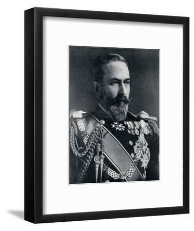 Prince Louis of Battenberg, First Sea Lord of the Admiralty, c1914-Unknown-Framed Photographic Print