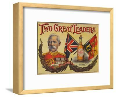 Two Great Leaders, c19th century-Unknown-Framed Giclee Print