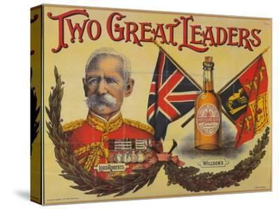 Two Great Leaders, c19th century-Unknown-Stretched Canvas Print